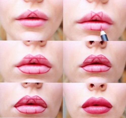 ruž za usne puhati