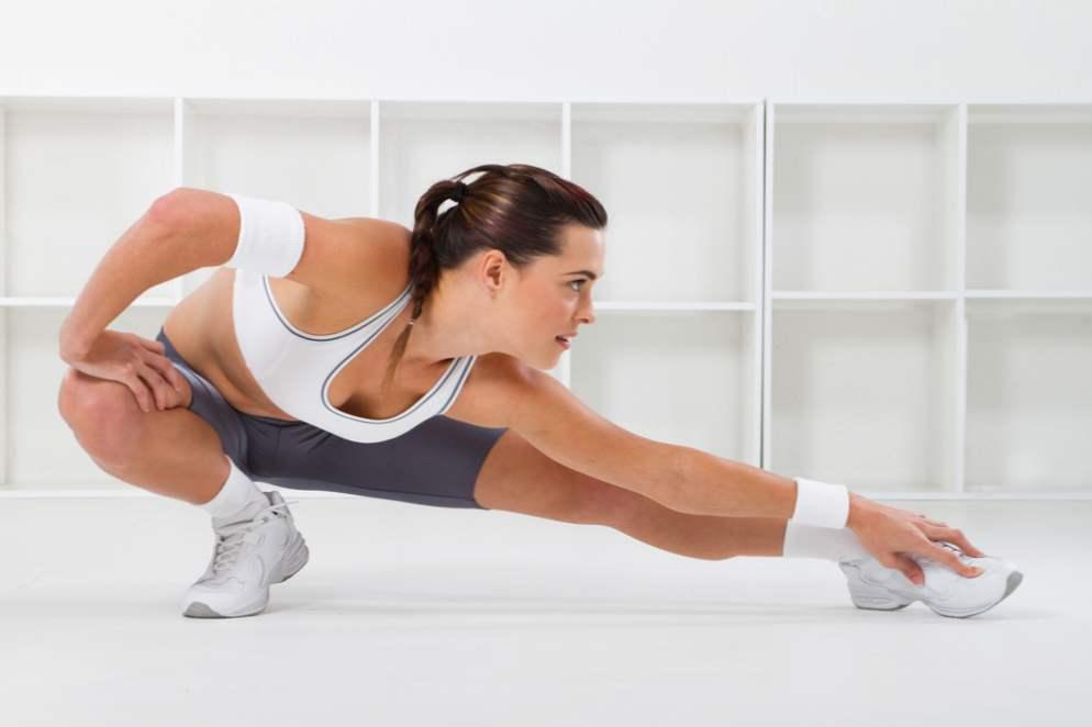 Гимнастика помогает похудеть